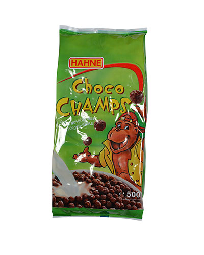 500GR HAHNE CHOCO CHAMPS